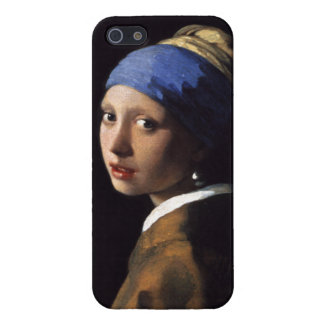 Girl With A Pearl Earring by Johannes Vermeer iPhone 5 Case