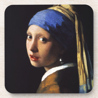 Girl with a Pearl Earring Coasters