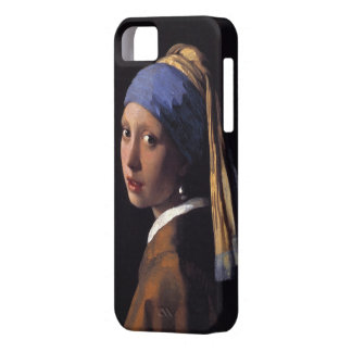 Girl with a Pearl Earring iPhone 5 Cases