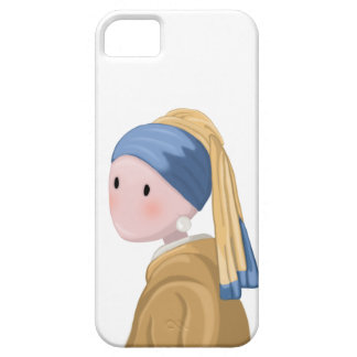 Girl with a Pearl Earring iPhone 5 Cover