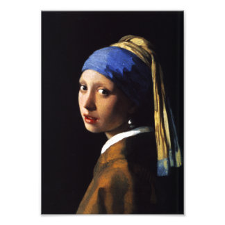 Girl with a Pearl Earring Photo Print