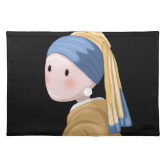 Girl with a Pearl Earring Placemat