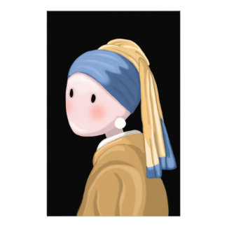 Girl with a Pearl Earring Stationery