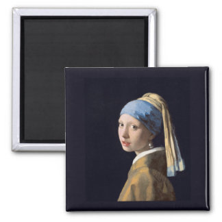 Girl with a Pearl Earring, Vermeer Magnet