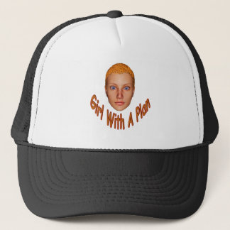 Girl With A Plan Trucker Hat