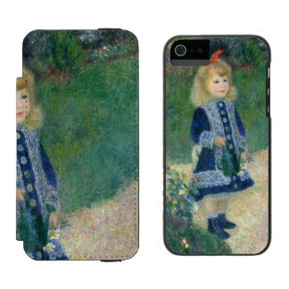 Girl with a Watering Can by Pierre-Auguste Renoir Incipio Watson™ iPhone 5 Wallet Case