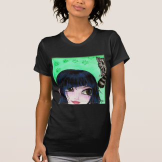 girl with cat 4 tees