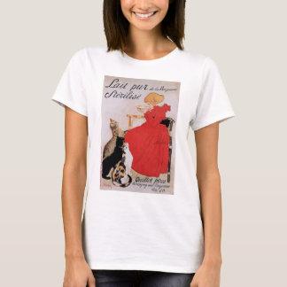Girl with Cats, Alexandre Steinlen T-Shirt