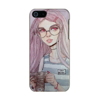 Girl with glasses incipio feather® shine iPhone 5 case