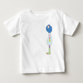 Girl with Mittens T-Shirt for Babies