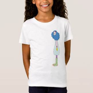 Girl with Mittens T-Shirt for Kids