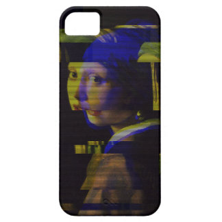 Girl with pearl earring Glitch case. iPhone 5 Cover