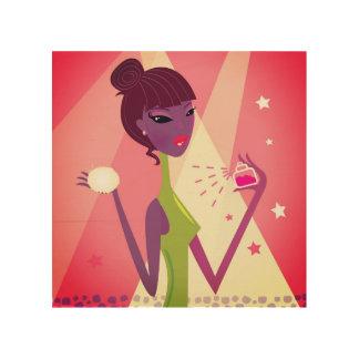 Girl with Perfume. Original art