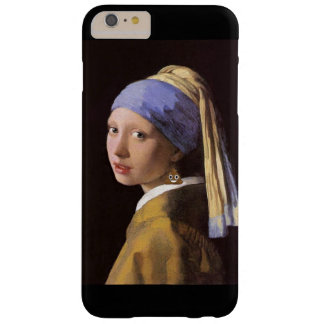 Girl with Poop Earring Barely There iPhone 6 Plus Case