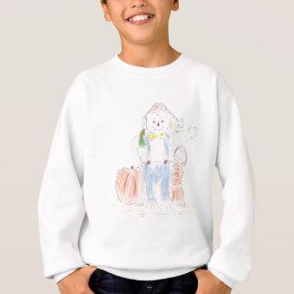 Girl with Scarecrow Sweatshirt