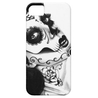 Girl With The Neck Tattoo by Carissa Rose iPhone 5 Cases