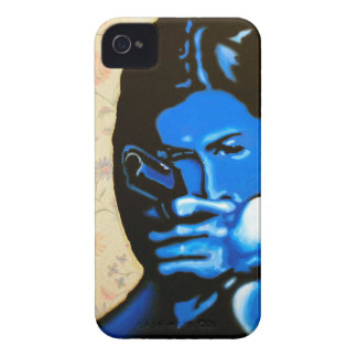 """""""Girl with Two Guns"""" by Axel Bottenberg Case-Mate iPhone 4 Case"""