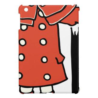 Girl With Umbrella Case For The iPad Mini