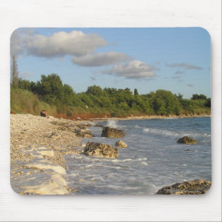 Girlfrend's favourite beach mouse pad