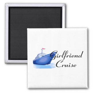 Girlfriend Cruise Magnet