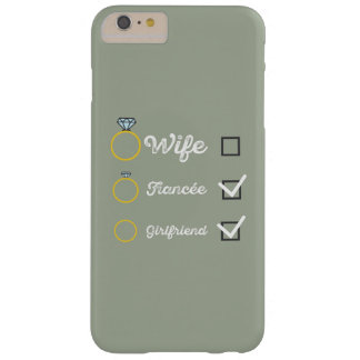 Girlfriend Fiancee Wife hen Party Zno5a Barely There iPhone 6 Plus Case