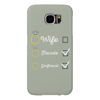 Girlfriend Fiancee Wife hen Party Zno5a Samsung Galaxy S6 Cases