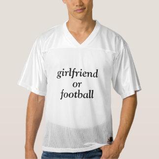 girlfriend or football men's football jersey
