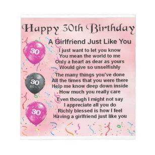 Girlfriends 30th Birthday Gifts On Zazzle AU