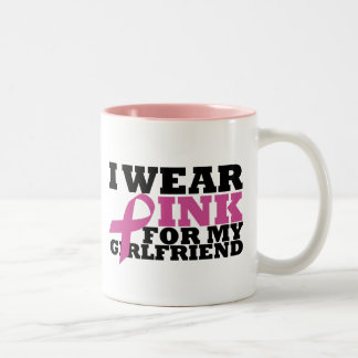 girlfriend Two-Tone coffee mug