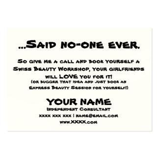 Girlfriends Business Card Template