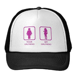 girlfriends trucker hat