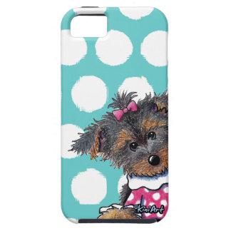 Girlie Girl Yorkie Tough iPhone 5 Case