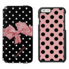 Girlie Polka Dots iPhone 6 Wallet Case Incipio Watson™ iPhone 6 Wallet Case