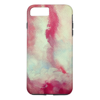 Girlie Unique Pink Art Apple iPhone 7 Plus, Tough iPhone 8 Plus/7 Plus Case
