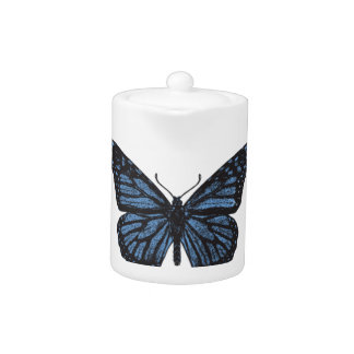 Girlie Vintage Monarch Butterfly Blue