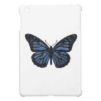 Girlie Vintage Monarch Butterfly Blue iPad Mini Covers