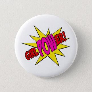 GirlPOWer 6 Cm Round Badge