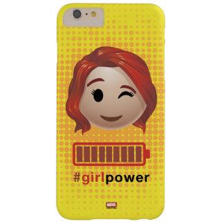 #girlpower Black Widow Emoji Barely There iPhone 6 Plus Case