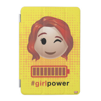 #girlpower Black Widow Emoji iPad Mini Cover