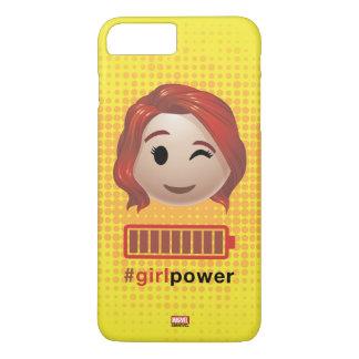 #girlpower Black Widow Emoji iPhone 7 Plus Case