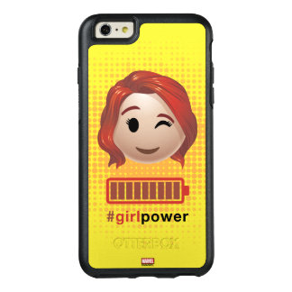#girlpower Black Widow Emoji OtterBox iPhone 6/6s Plus Case