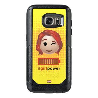 #girlpower Black Widow Emoji OtterBox Samsung Galaxy S7 Case