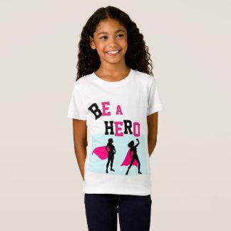 #GirlPower Super Hero Tee for Girls - ADD Name