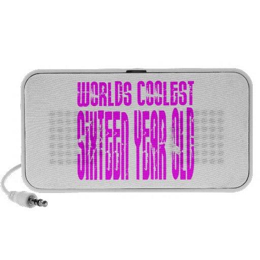 Girls 16 Birthdays Worlds Coolest Sixteen Year Old Mini Speaker