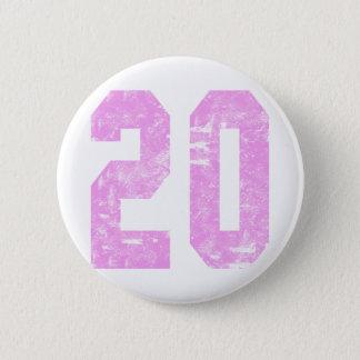 Girls 20th Birthday Gifts 6 Cm Round Badge