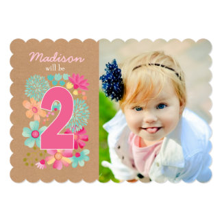 2nd Birthday Invitations Announcements Zazzlecomau