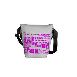 Girls 32nd Birthdays Pink Greatest Thirty Two Courier Bags