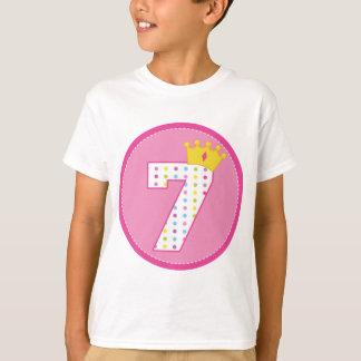Girls 7th Birthday Tshirts