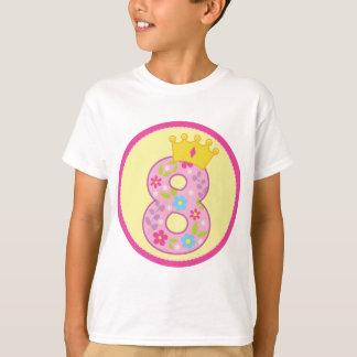 Girls 8th Birthday T-Shirt