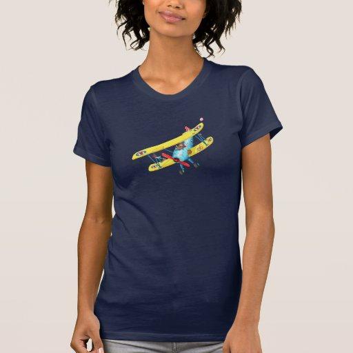 Girls Aeroplane T-shirt